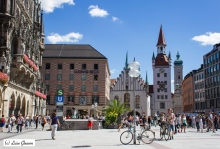 City Life in South Germany