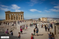 Crowded Acropolis