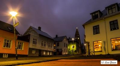 Street in Reykjavik