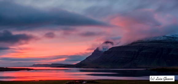 Sunrise In East Iceland
