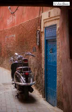 Entrance To A Riad