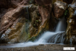 Waterfall In The Dades Gorge