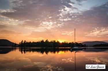 Sunrise On Golden Pond